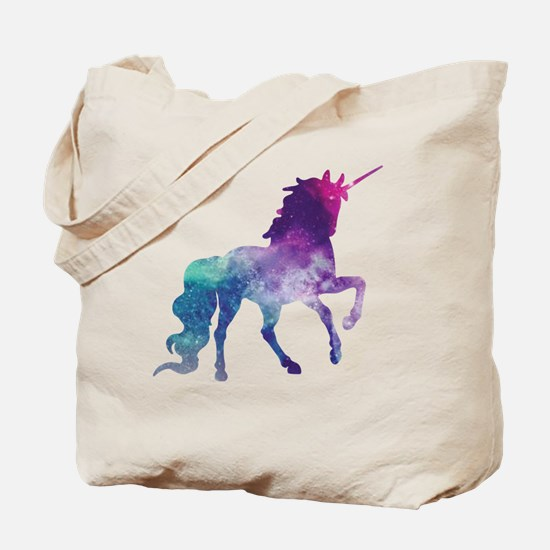 Funny Pink unicorn Tote Bag