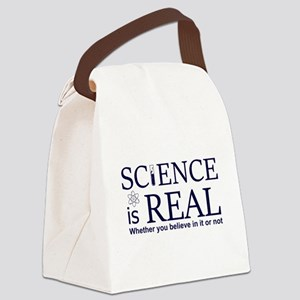 Science is Real Canvas Lunch Bag