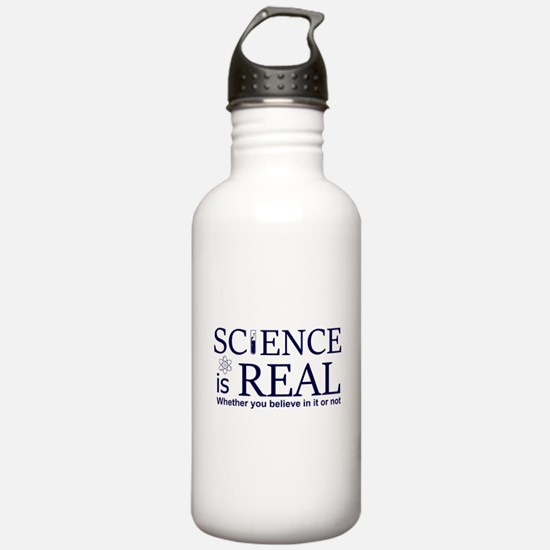 Science is Real Water Bottle