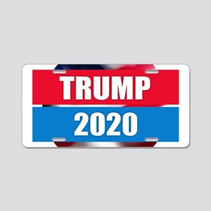 Trump 2020 Aluminum License Plate