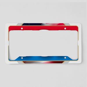 USA - Flag Design License Plate Holder