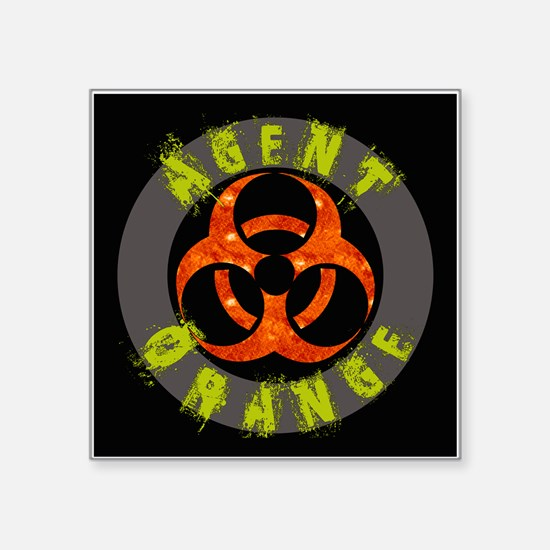 Agent Orange Sticker