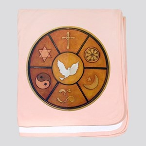 Interfaith Symbol - baby blanket