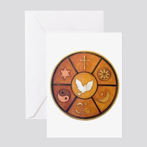 Interfaith Symbol - Greeting Card