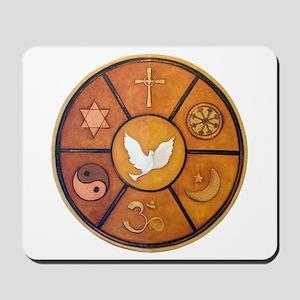 Interfaith Symbol - Mousepad