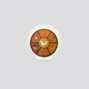 Interfaith Symbol - Mini Button