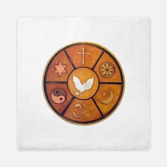 Interfaith Symbol - Queen Duvet