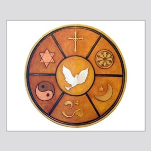 Interfaith Symbol - Small Poster