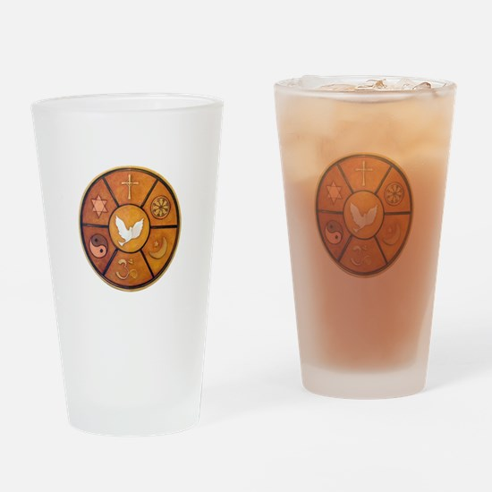 Interfaith Symbol - Drinking Glass
