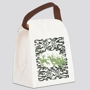 Ride of the Valkyrie Canvas Lunch Bag
