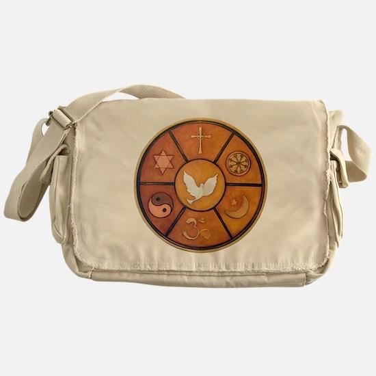 Interfaith Symbol - Messenger Bag