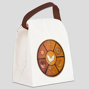 Interfaith Symbol - Canvas Lunch Bag