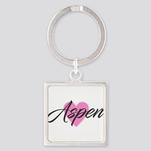 I Heart Aspen Keychains