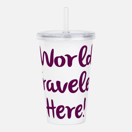World Traveler Acrylic Double-wall Tumbler