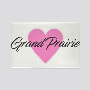 I Heart Grand Prairie Magnets