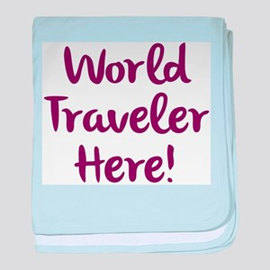 World Traveler baby blanket