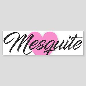 I Heart Mesquite Bumper Sticker