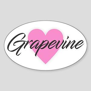I Heart Grapevine Sticker