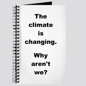 THE CLIMATE IS... Journal