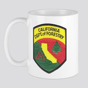 California Forestry Mug