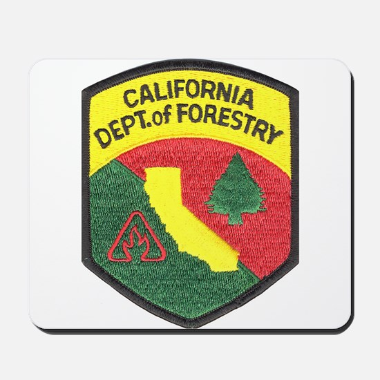 California Forestry Mousepad