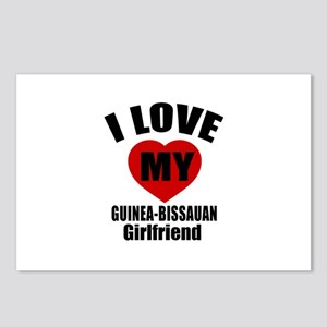 I Love My Guinea Bissauan Postcards (Package of 8)