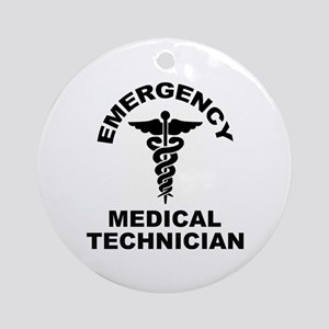 EMT Round Ornament