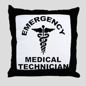 EMT Throw Pillow