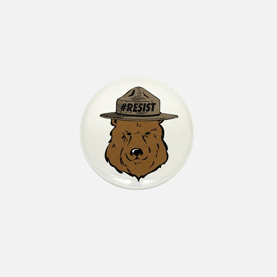Alt National Park Service Mini Button