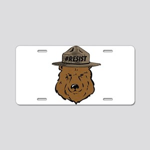 Alt National Park Service Aluminum License Plate