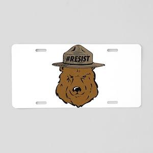 Alt National Park Service Aluminum License Plate