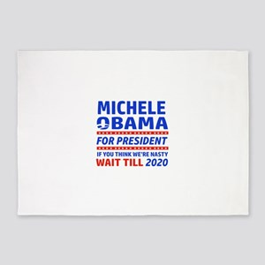 Michelle Obama 2020 designs 5'x7'Area Rug