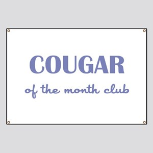 COUGAR of the MONTH CLUB Banner