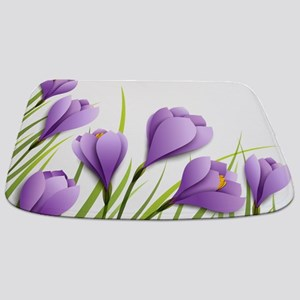 Paper Flowers Bathmat