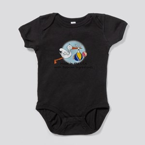 Stork Baby Bosnia USA Body Suit