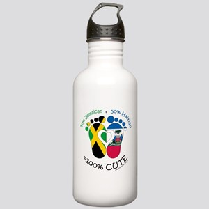 Jamaican Haitian Baby Water Bottle