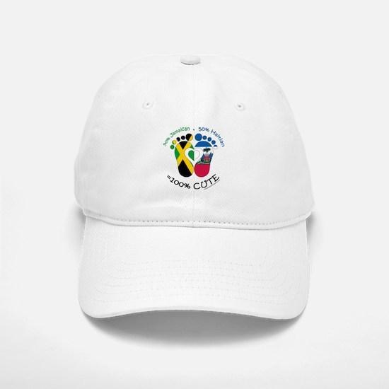 Jamaican Haitian Baby Baseball Baseball Baseball Cap