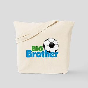 Soccer Big Brother Tote Bag