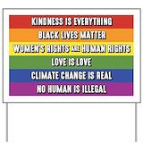 Human rights Yard Signs
