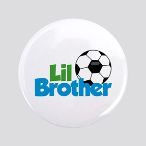 Soccer Little Brother Button
