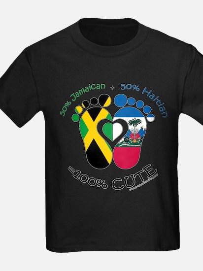 Jamaican Haitian Baby T-Shirt