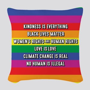 The Truth Woven Throw Pillow