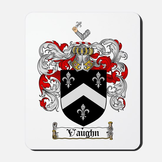 Vaughn Coat of Arms Mousepad
