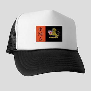 phi mu delta flag Trucker Hat
