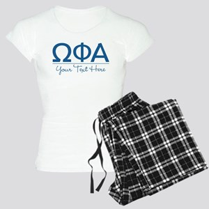 Omega Phi Alpha Sorority Letters with Personalizab