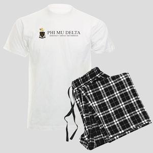 Phi Mu Delta Crest Men's Light Pajamas