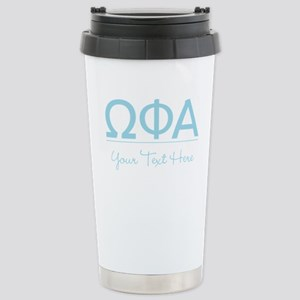 Omega Phi Alpha Persona Stainless Steel Travel Mug