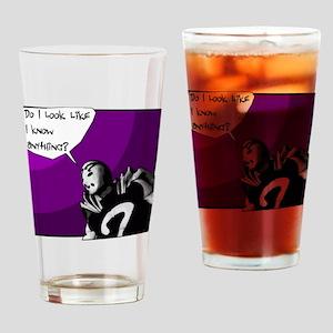 Guerrilla Agnostic Drinking Glass