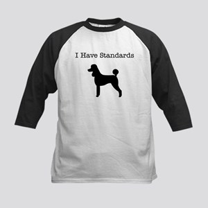 i_have_stds_black Baseball Jersey