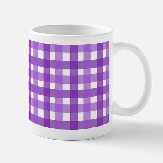 Purple Picnic Cloth Pattern Mug